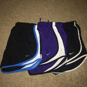 Bundle of (3) Nike Tempo Running Shorts